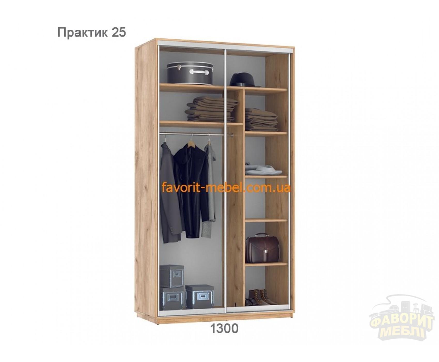 Шкаф купе Практик 25 (130х60х240 см)