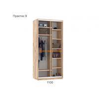 Шкаф купе Практик 9 (110х60х240 см)