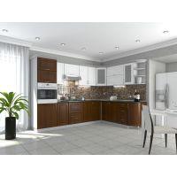 Кухня Квадрис Белое дерево