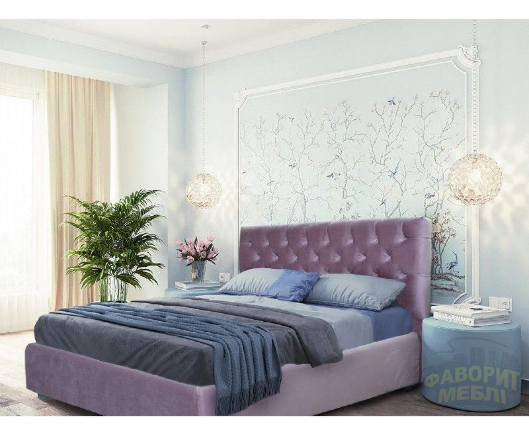 """Двуспальная кровать """"Борно"""" с подъемным механизмом 160*200"""