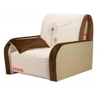 Кресло-кровать «Max-1 (02) 0,8 ППУ» с принтом