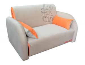 Диван-кровать «Max-2 (02) 1,0 ППУ» с принтом