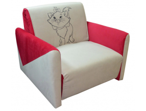 Кресло-кровать «Max-3 (02) 0,8 ППУ» с принтом