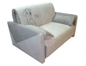 Диван-кровать «Max-3 (02) 1,0 ППУ» с принтом