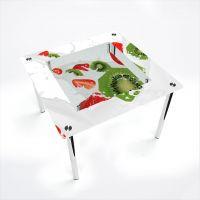 Стол обеденный Квадратный с полкой Fruit&Milk