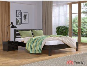 Дерев'яне односпальне ліжко Рената Люкс 90х200 см Естелла