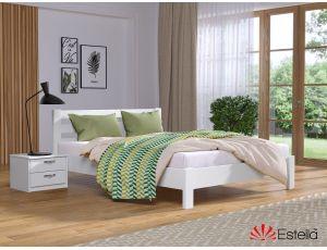 Дерев'яне односпальне ліжко Рената Люкс 80х200 см Естелла