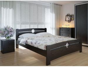 """Двуспальная деревянная кровать """"Авила"""" 160*200 Meblikoff"""