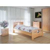 """Односпальная деревянная кровать """"Авила"""" 90*200 Meblikoff"""