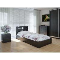 """Односпальная деревянная кровать """"Авила"""" 90*200 с подъемным механизмом Meblikoff"""