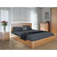 """Двуспальная деревянная кровать """"Грин Плюс"""" 160*200 с подъемным механизмом Meblikoff"""