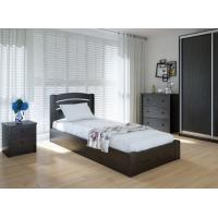"""Односпальная деревянная кровать """"Грин Плюс"""" 90*200 с подъемным механизмом Meblikoff"""