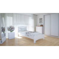 """Односпальная деревянная кровать """"Грин"""" 90*200 Meblikoff"""