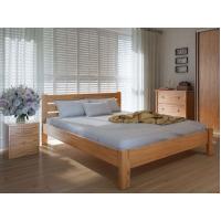 """Двуспальная деревянная кровать """"Еко Плюс"""" 180*200 Meblikoff"""
