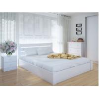"""Двуспальная деревянная кровать """"Еко Плюс"""" 180*200 с подъемным механизмом Meblikoff"""