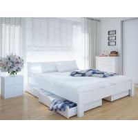 """Двуспальная деревянная кровать """"ЕКО"""" 160*200 Meblikoff"""