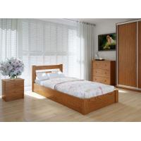 """Односпальная деревянная кровать """"ЕКО"""" 90*200 с подъемным механизмом Meblikoff"""