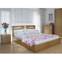 """Полуторная деревянная кровать """"Кантри Плюс"""" 120*200 с подъемным механизмом Meblikoff"""