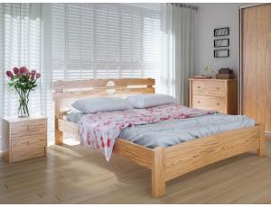 """Полуторная деревянная кровать """"Кантри"""" 120*200 Meblikoff"""
