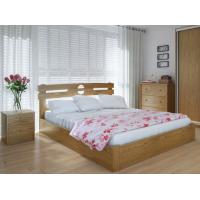 """Двуспальная деревянная кровать """"Кантри"""" 160*200 с подъемным механизмом Meblikoff"""