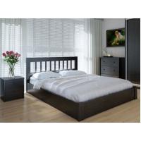"""Двуспальная  деревянная кровать """"Луизиана"""" 160*200 с подъемным механизмом Meblikoff"""