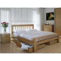"""Полуторная  деревянная кровать """"Луизиана"""" 120*200 Meblikoff"""