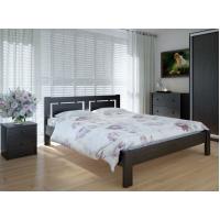 """Полуторная деревянная кровать """"Пальмира"""" 140*200 Meblikoff"""