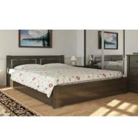 """Двуспальная деревянная кровать """"Пальмира"""" 160*200 с подъемным механизмом Meblikoff"""
