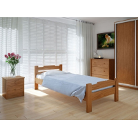 """Односпальная деревянная кровать """"Сакура"""" 90*200 Meblikoff"""