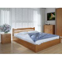 """Полуторная деревянная кровать """"Сакура"""" 120*200 с подъемным механизмом Meblikoff"""