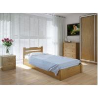 """Односпальная деревянная кровать """"Сакура"""" 90*200 с подъемным механизмом Meblikoff"""