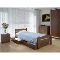 """Односпальная деревянная кровать """"Сакура Плюс"""" 90*200 Meblikoff"""