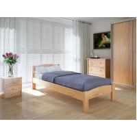 """Односпальная деревянная кровать """"Скай"""" 90*200 Meblikoff"""
