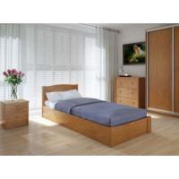 """Односпальная деревянная кровать """"Скай"""" 90*200 с подъемным механизмом Meblikoff"""