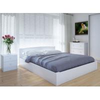 """Полуторная деревянная кровать """"Скай"""" 120*200 с подъемным механизмом Meblikoff"""